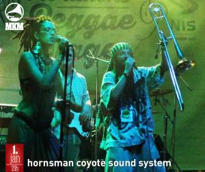 Hornsman Coyote Sound System 1. januara u Muzičkoj kući Metropolis!